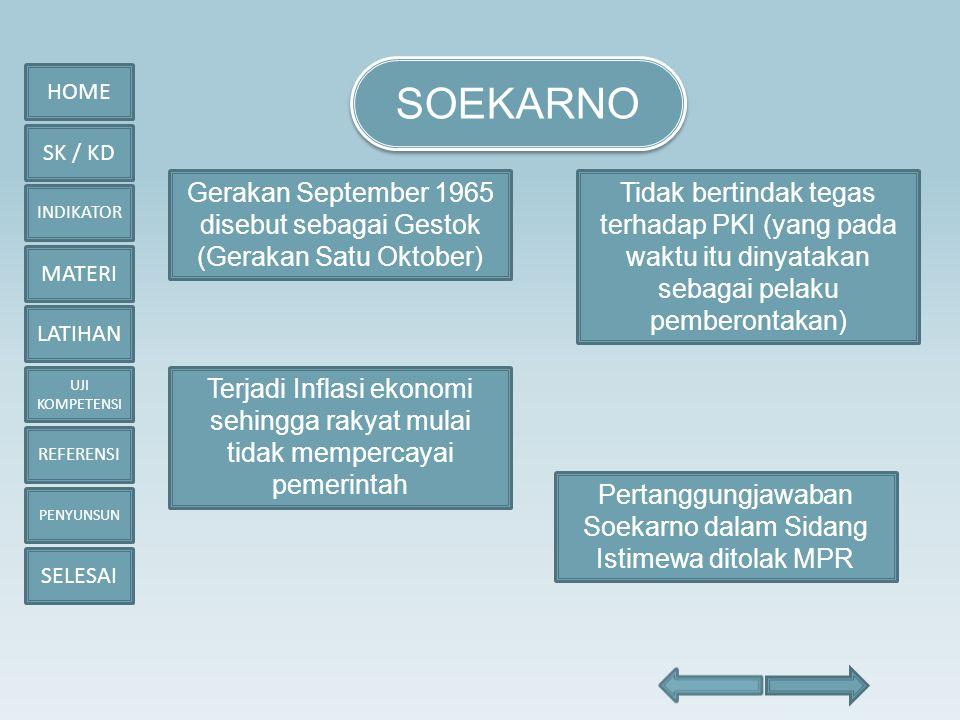 HOME SK / KD INDIKATOR MATERI LATIHAN UJI KOMPETENSI REFERENSI PENYUNSUN SELESAI 5.