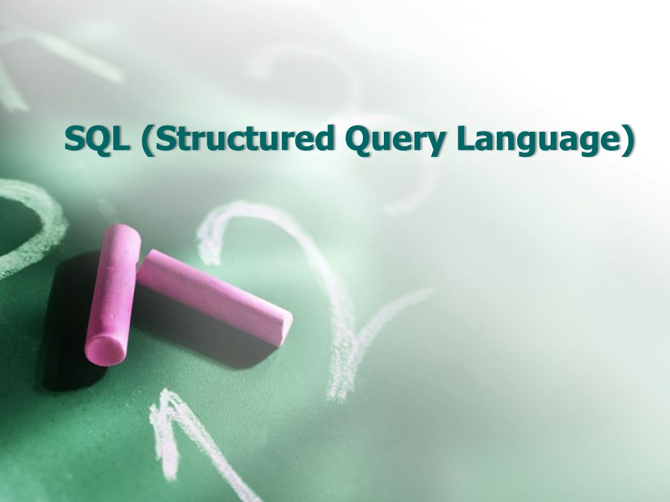 SQL •Concepts of Query •Basic Structure • Set Operations • Aggregate Functions • Null Values • Nested Subqueries • Derived Relations • Views • Modification of the Database • Joined Relations