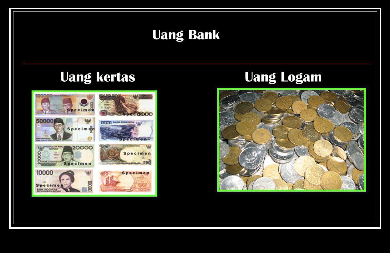 Ciri – Ciri Uang Logam Pemerintah  Bertuliskan Indonesia.  Terdapat angka yang menunjukkan Nilai dan tahun pembuatan. Uang Logam Pemerintah