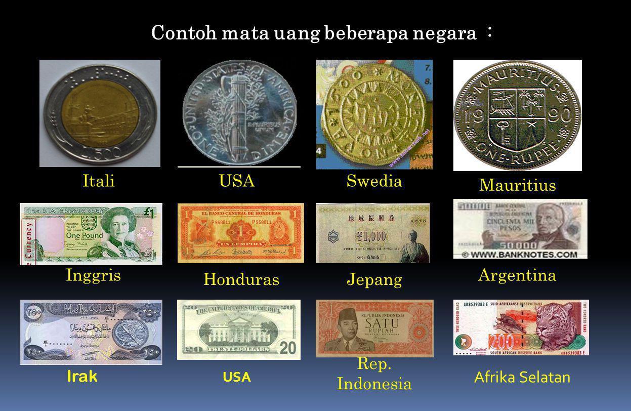 Meskipun uang kertas tidak mempunyai nilai intrinsik; nasyarakat mau menerima uang kertas, hal ini disebabkan  m masyarakat percaya bahwa pemerintah