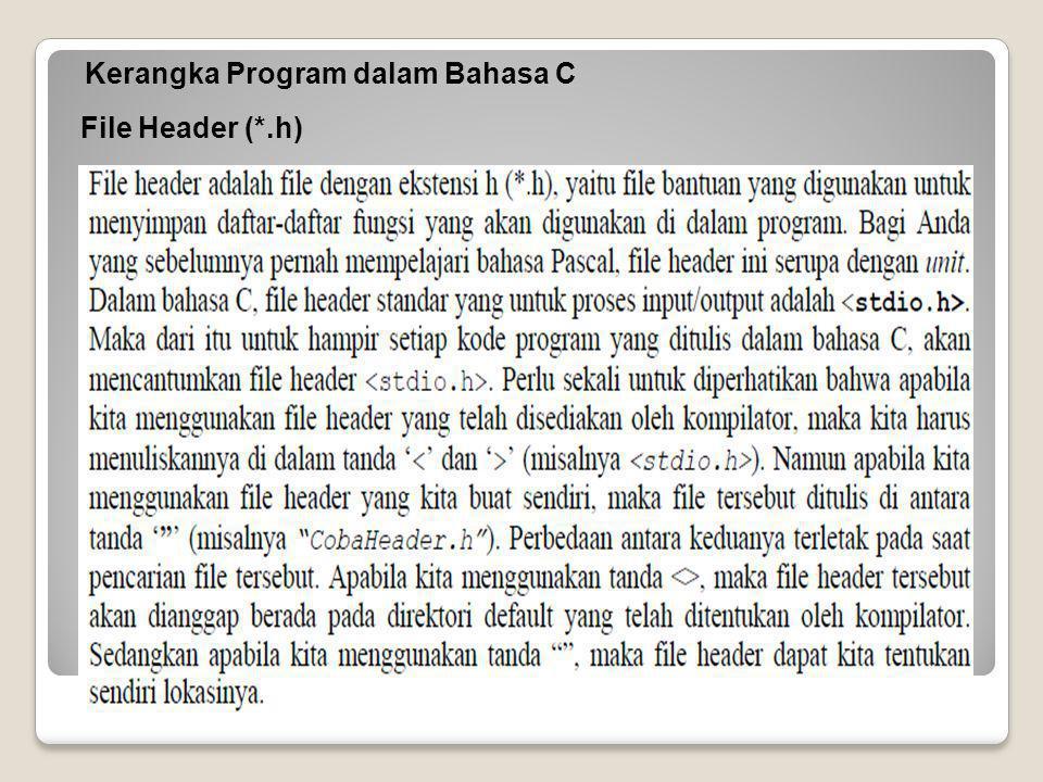 File Header (*.h)