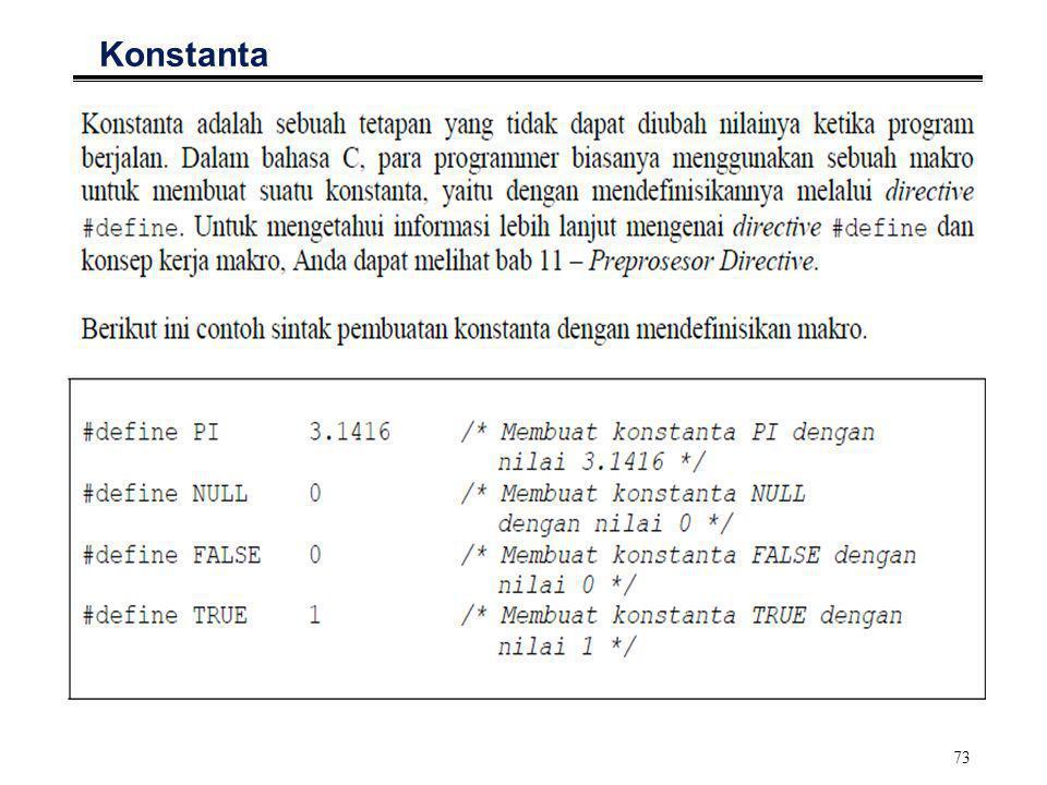73 Konstanta