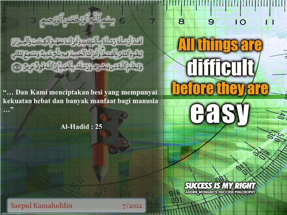 Saepul Kamaluddin7/2012