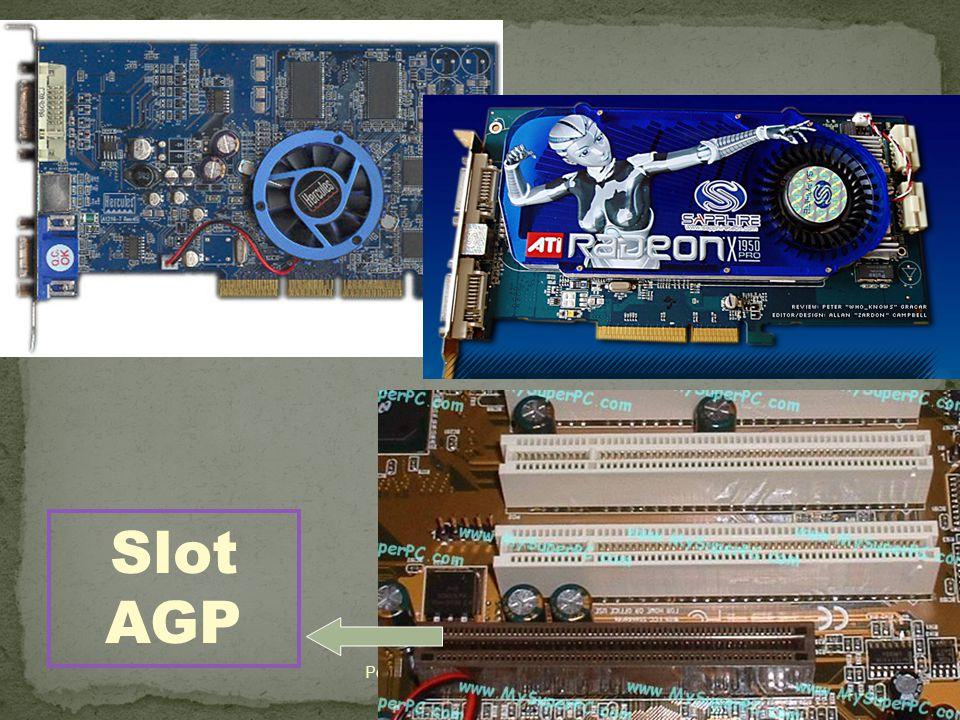 31 Pengelolaan instalasi Komputer Slot AGP