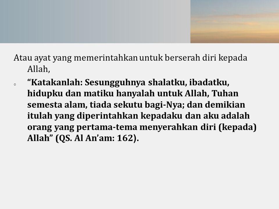 Kegiatan yg membedakan ( beberapa yang kami sorot di Indonesia ) Contoh Organisasi Sufism Modern ( masa kini ) : Majelis N.