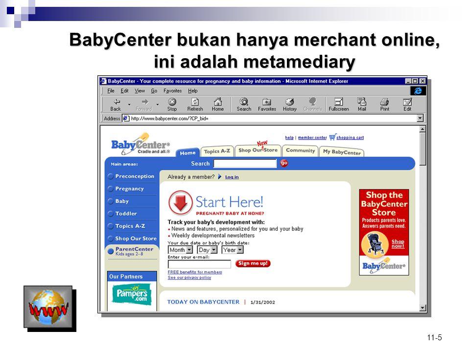 11-5 BabyCenter bukan hanya merchant online, ini adalah metamediary