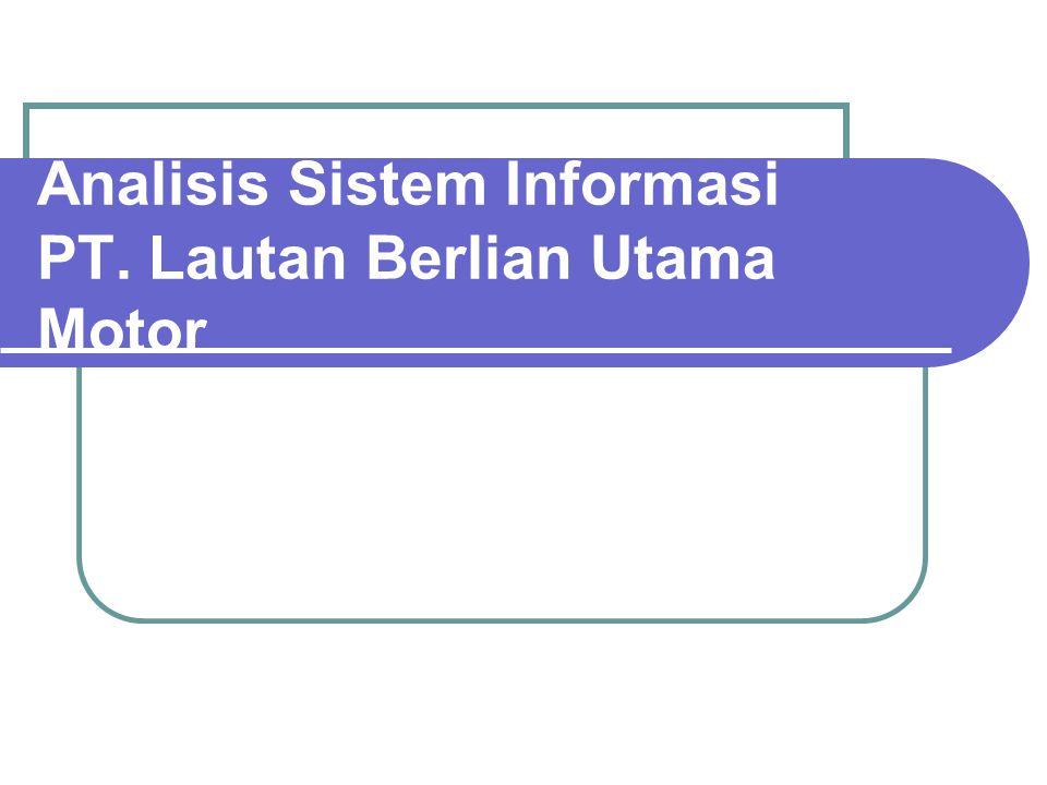 COMPANY ENVIRONMENT Latar Belakang Perusahaan  PT.