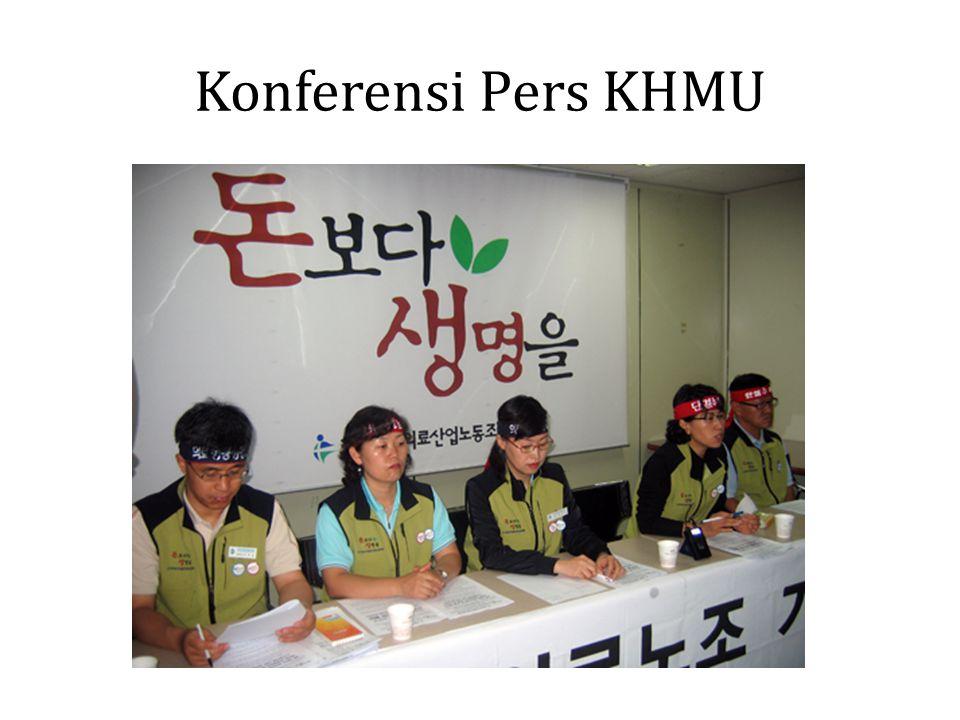 Konferensi Pers KHMU