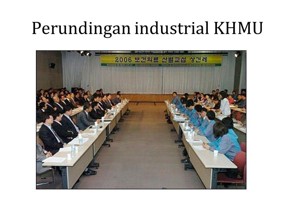 Perundingan industrial KHMU