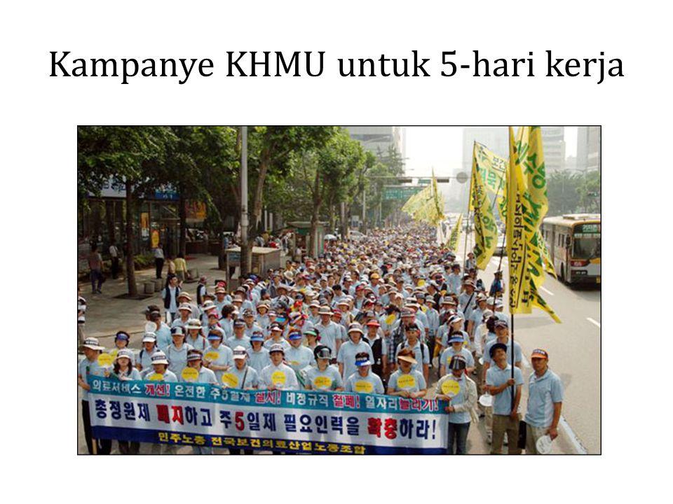 Kampanye KHMU untuk 5-hari kerja