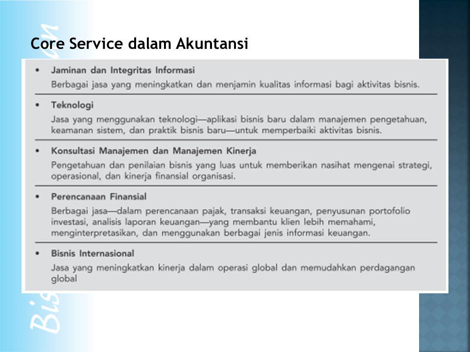Core Service dalam Akuntansi