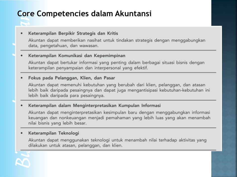 Core Competencies dalam Akuntansi