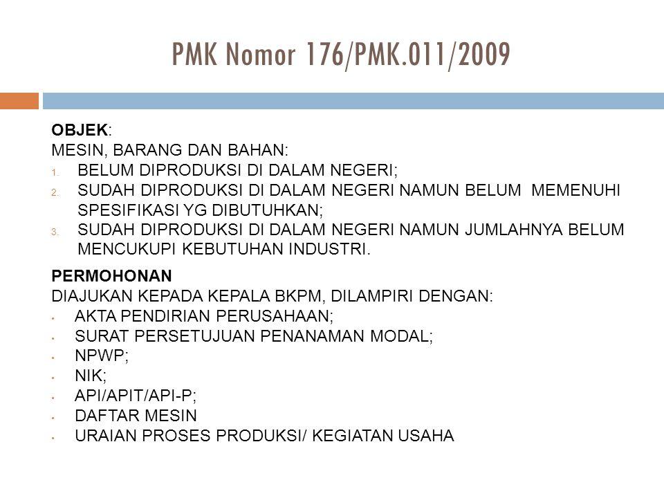 PMK Nomor 154/PMK.011/2008 jo.