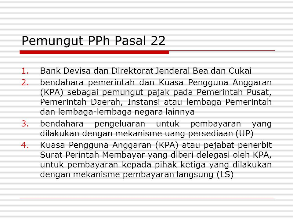 OBJEK PPh PASAL 23/26 CAPITAL INCOME SERVICE INCOME EMPLOYMENT & ACTIVITY INCOME (OTHER THAN OBJECTS OF PPh 21)