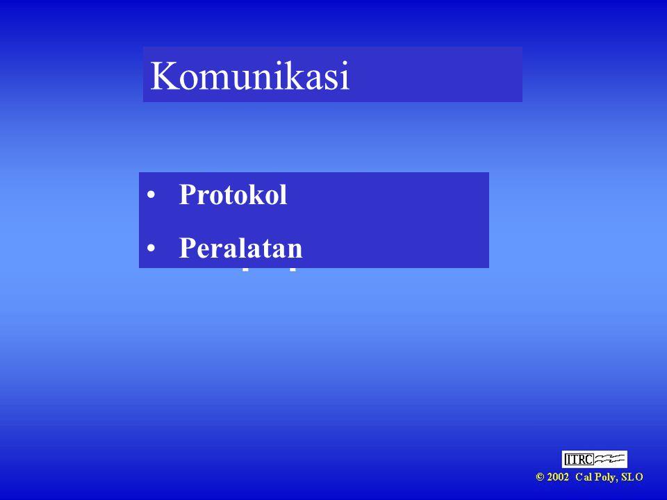Komunikasi • Protokol • Peralatan