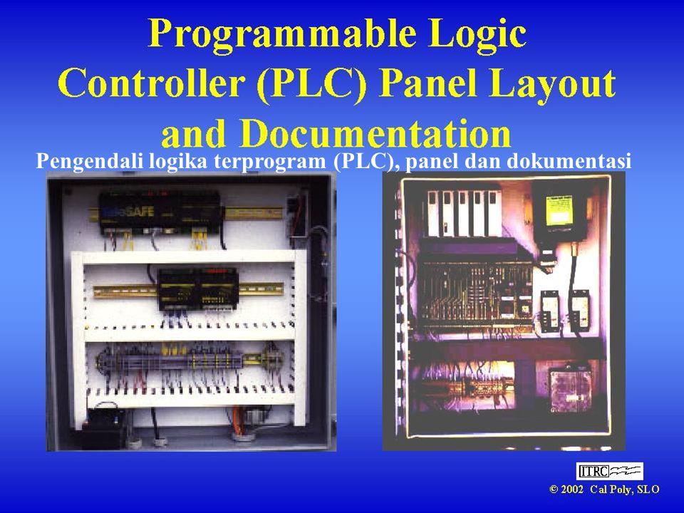 Pengendali logika terprogram (PLC), panel dan dokumentasi