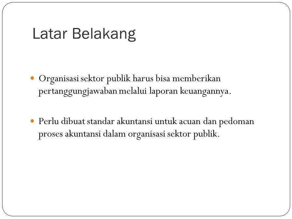 Regulasi dan Standar AKUNTANSI SEKTOR PUBLIK
