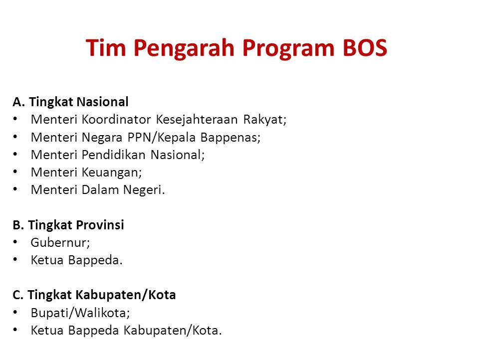 Tim Pengarah Program BOS A.