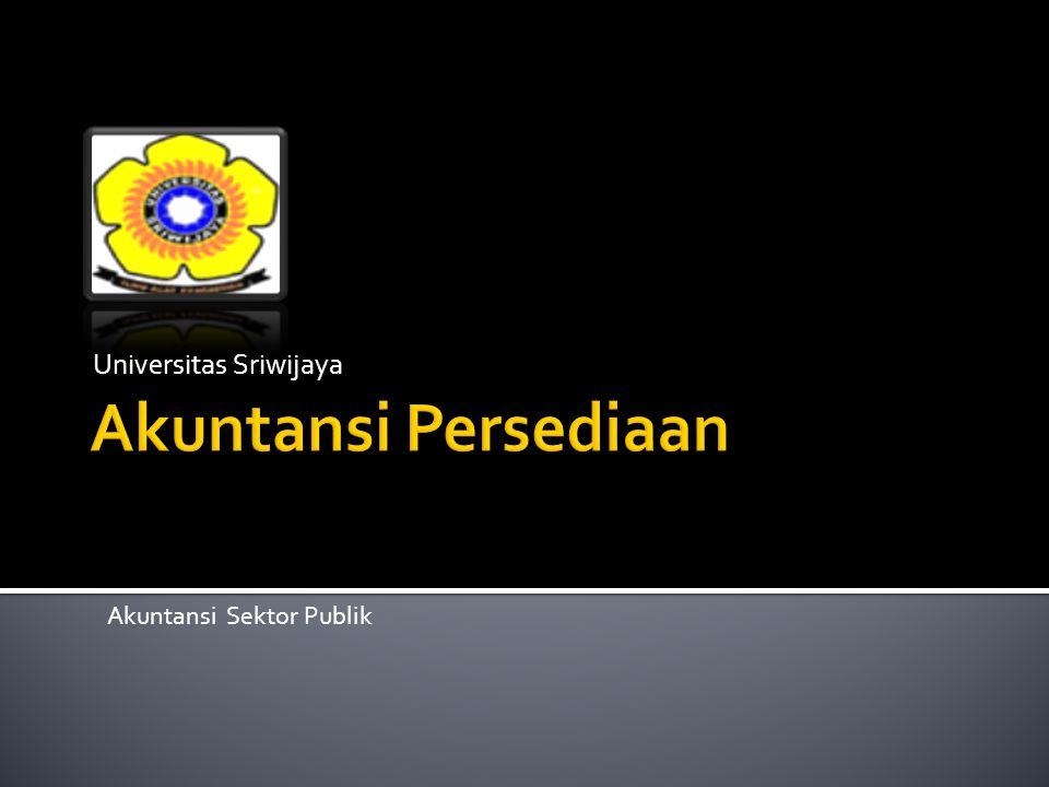Universitas Sriwijaya Akuntansi Sektor Publik