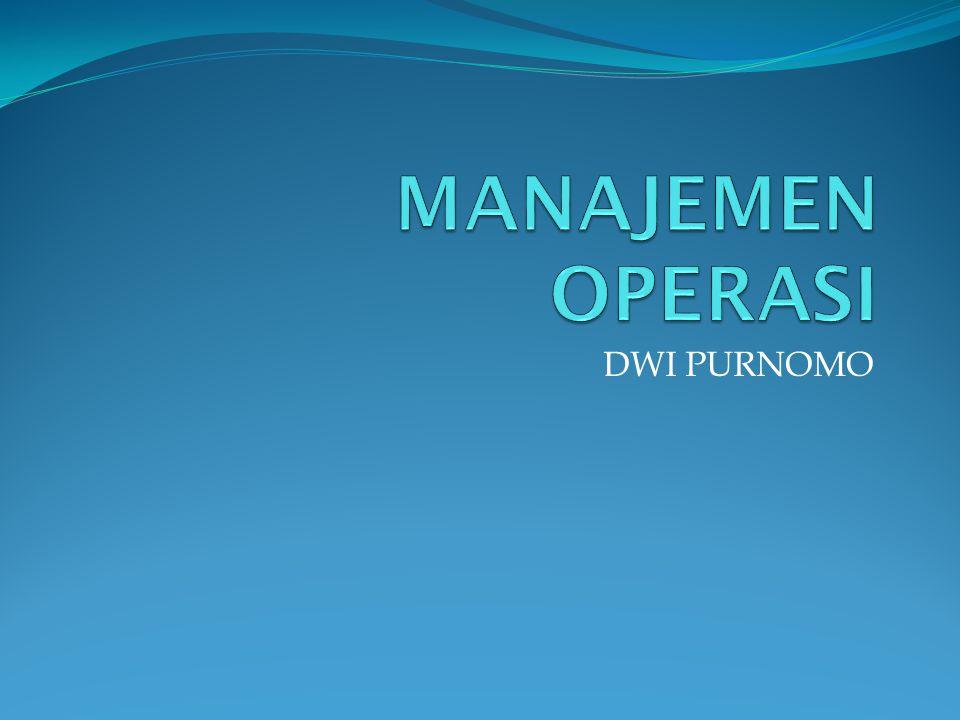 JIT dan manajemen rantai suplai Membuat atau membeli komponennya? Siapa dan berapa pemasoknya?