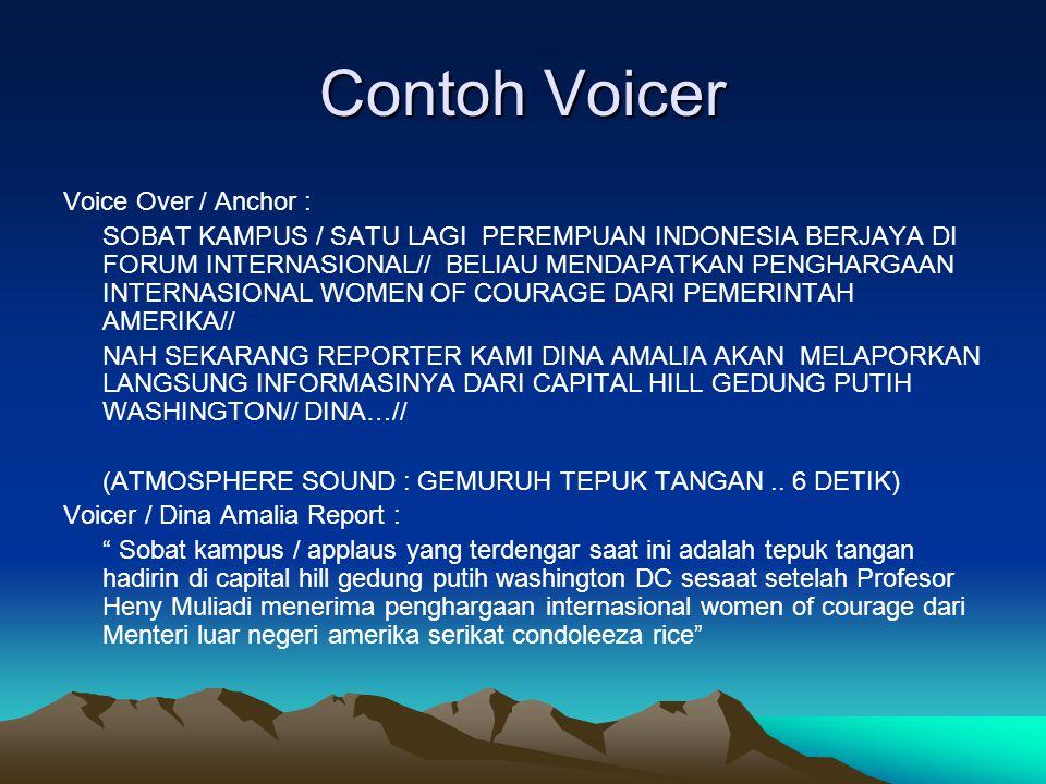 Contoh Voicer Voice Over / Anchor : SOBAT KAMPUS / SATU LAGI PEREMPUAN INDONESIA BERJAYA DI FORUM INTERNASIONAL// BELIAU MENDAPATKAN PENGHARGAAN INTER