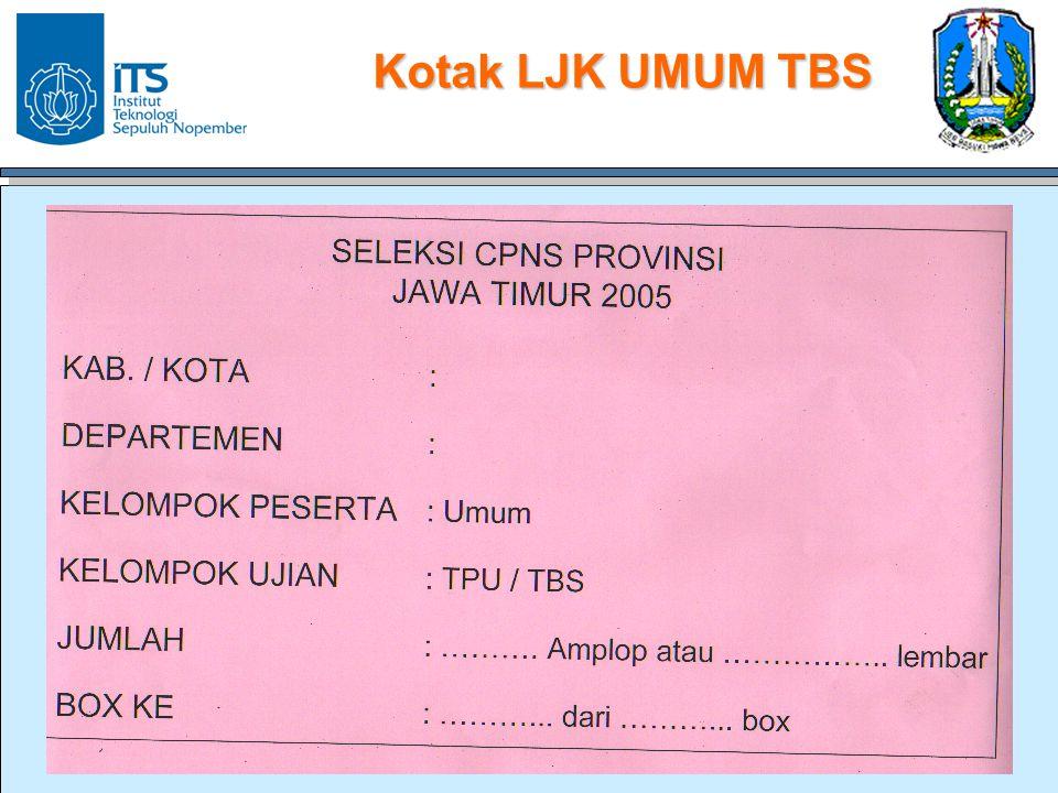 Kotak LJK UMUM TBS