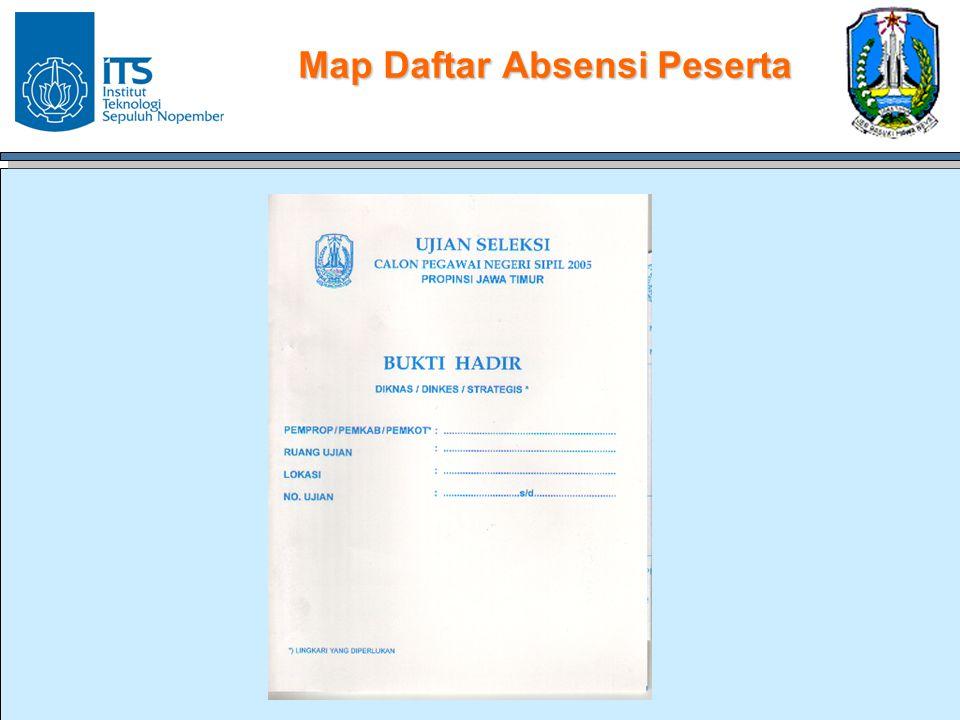 Map Daftar Absensi Peserta