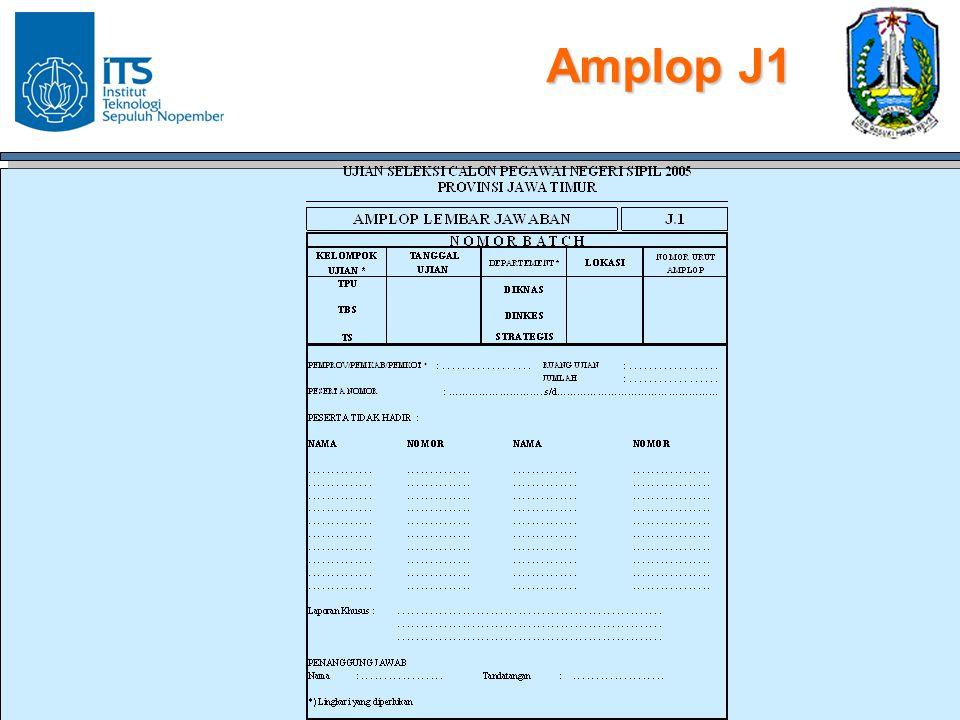 Amplop J1