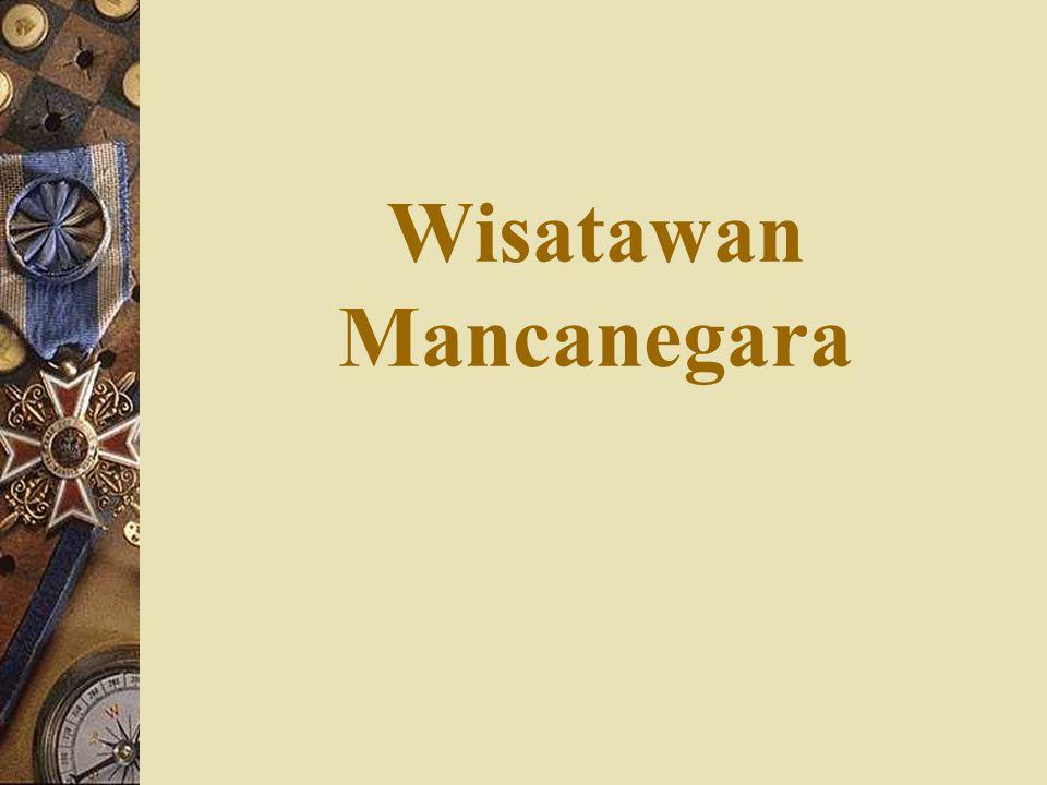 Wisatawan Mancanegara