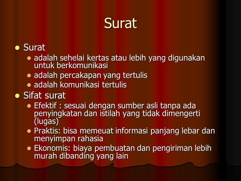 Dafar Pustaka •Surat-Menyurat, Sonezza Ladyanna, S.S., M.A •http://www.lochaber.