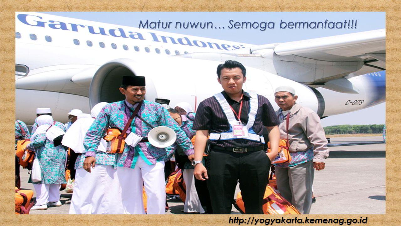 Matur nuwun… Semoga bermanfaat!!! http://yogyakarta.kemenag.go.id