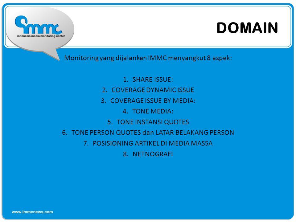 NETNOGRAFI • Netnografi merupakan salah satu pola monitoring yang juga menjadi concern IMMC.