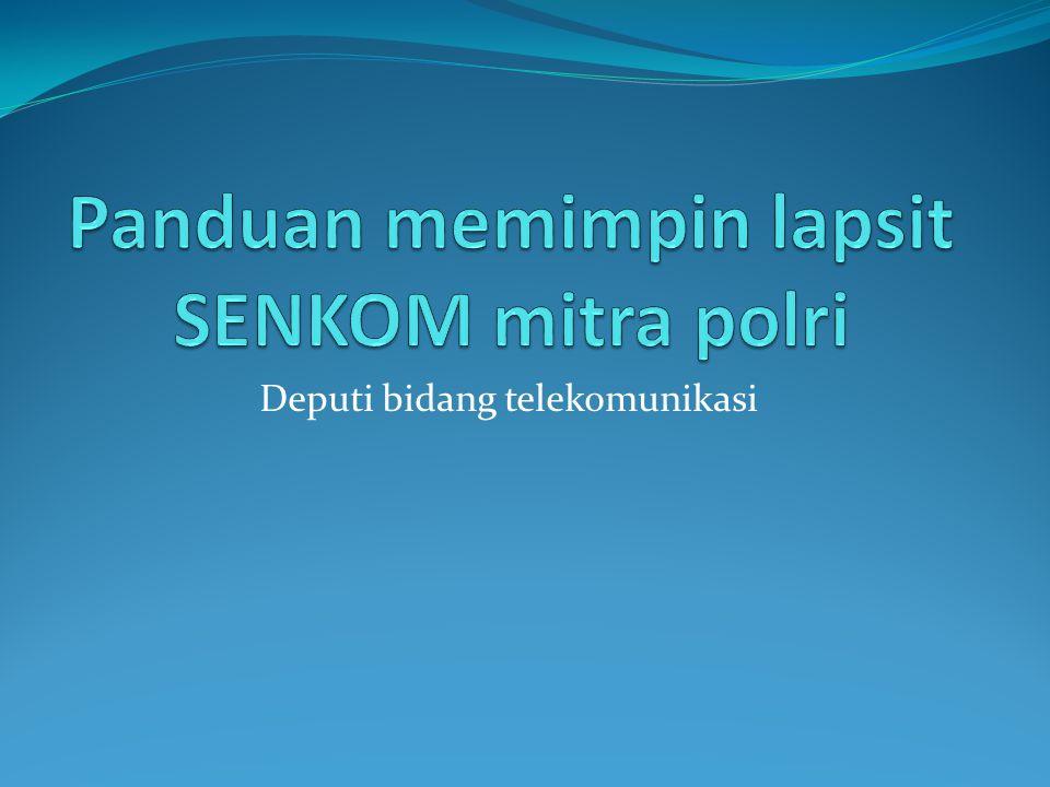 Deputi bidang telekomunikasi