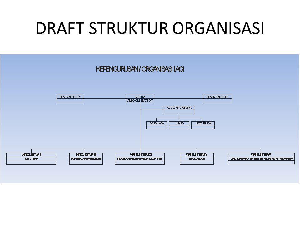 DRAFT STRUKTUR ORGANISASI