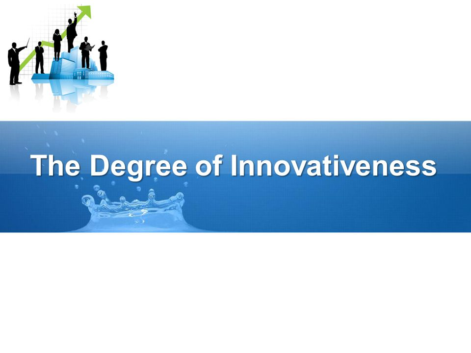 The Degree of Innovativeness