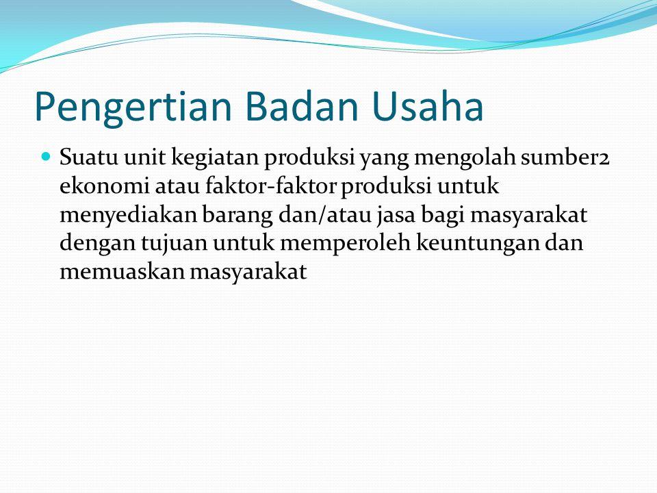 Contoh BUMD  Bank Pembangunan Daerah (BPD)  Perusahaan Daerah Air Minum (PDAM)  Perusahaan Daerah Angkutan Kota (bus kota)  Perusahaan Daerah Rumah Potong Hewan (PDRPH)