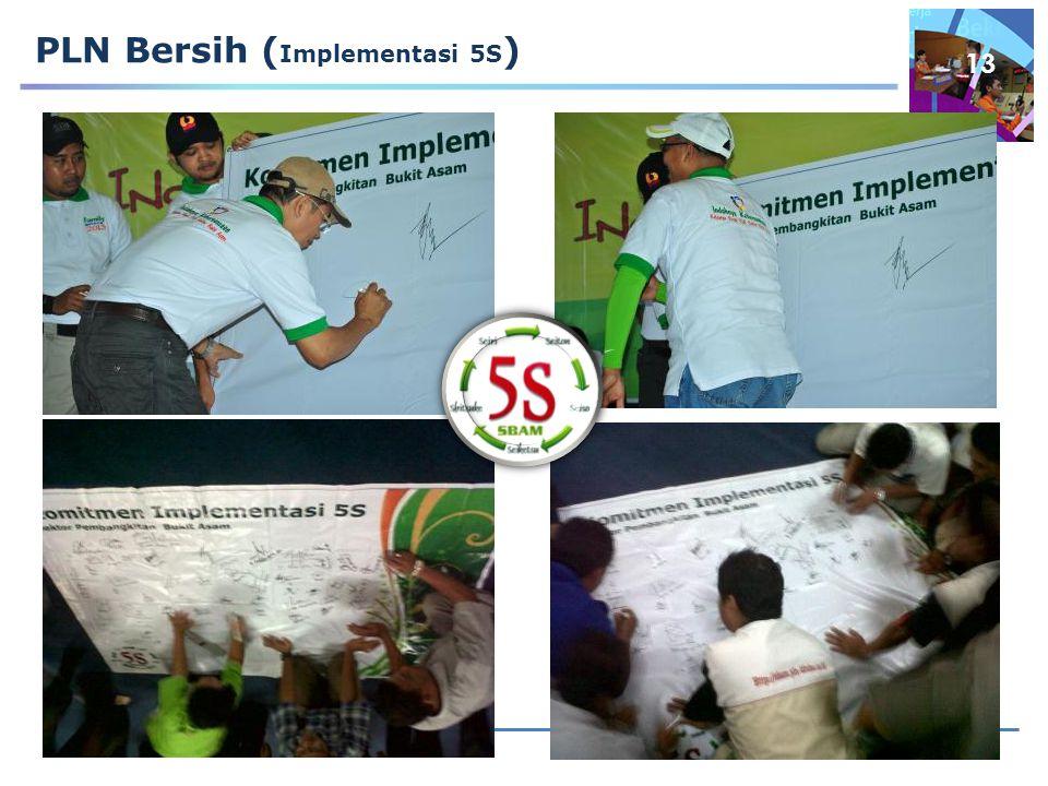 13 PLN Bersih ( Implementasi 5S )