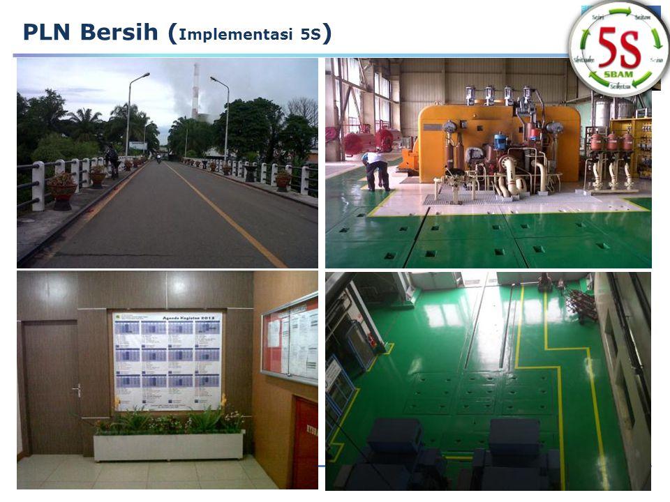 14 PLN Bersih ( Implementasi 5S )