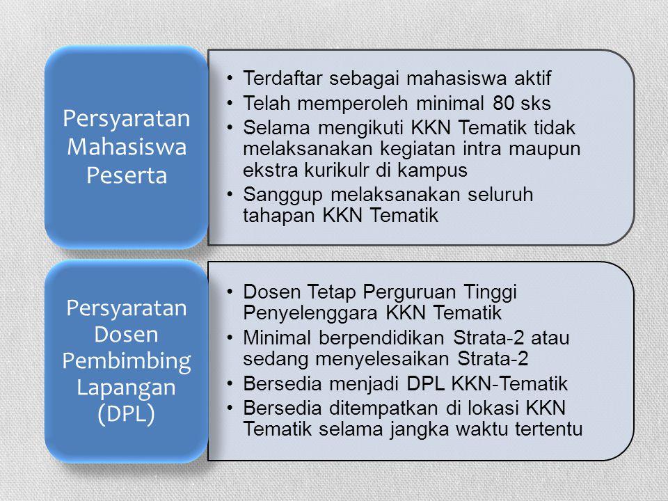 PENETAPAN TEMA DAN LOKASI Ditetapkan melalui Lokakarya KKN-Tematik yang diselenggarakan oleh Forum KKN- Tematik Perguruan Tinggi se Jawa Barat.