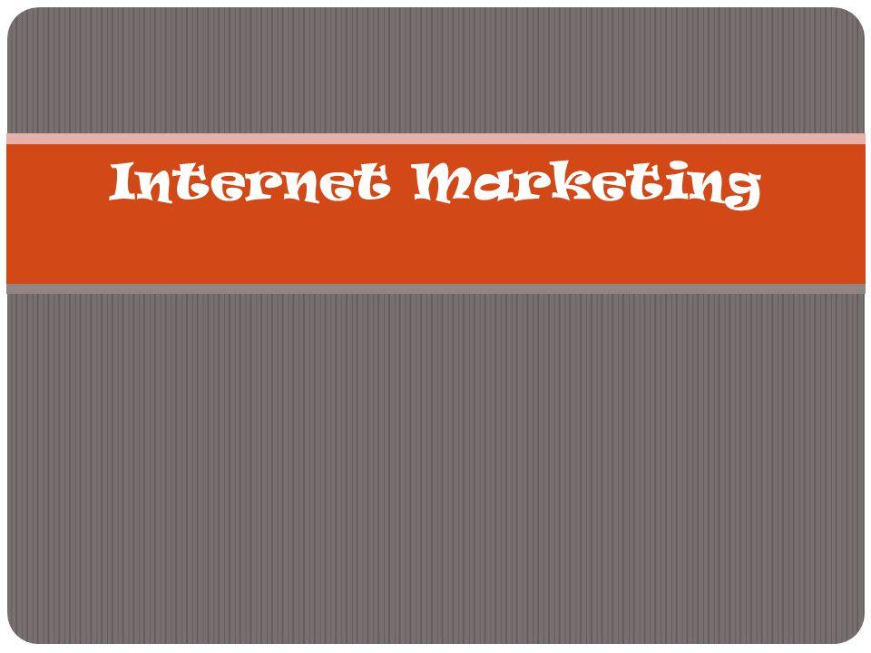 Internet Marketing  Terdapat perbedaan dasar antara pendekatan pemasaran tradisional dan pemasaran lewat internet (Talha et al.).