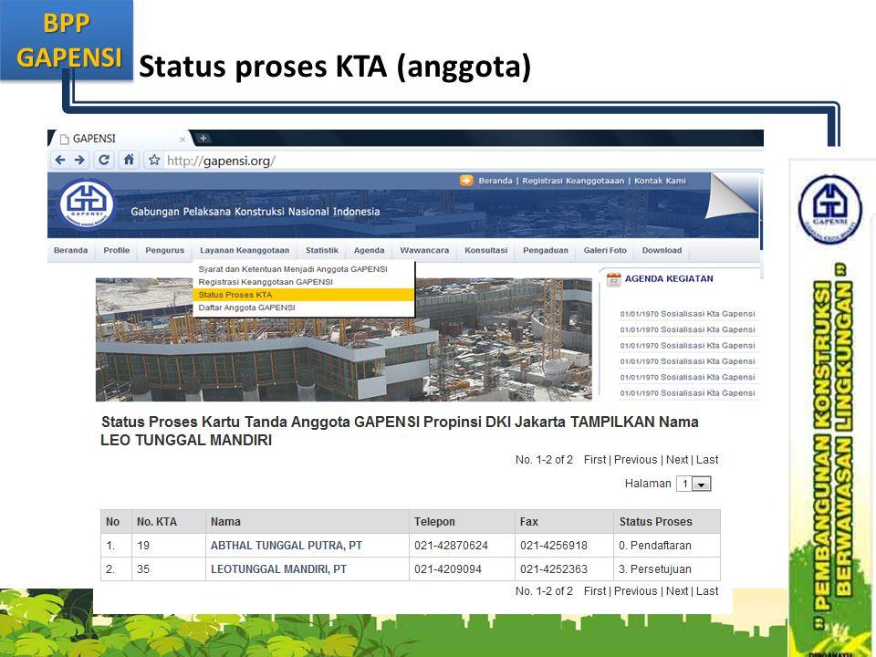 BPP GAPENSI GAPENSIBPP Status proses KTA (anggota)