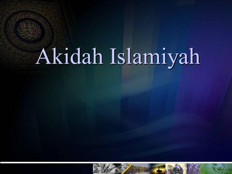 PERLU DIKETAHUI NOIMANAQIDAH1 Hanya ada dalam Islam Bukan Hanya Islam: Kapitalisme (Kufur) Sosialisme (Kufur) Islam (Shohih) 2 Bahasa yang dipakai dalam Al-Qur'an dan Hadist Bahasa yang dipakai oleh ulama ushuluddin