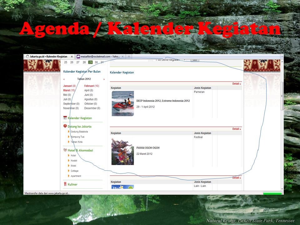Agenda / Kalender Kegiatan