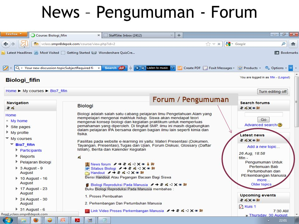 Forum / Pengumuman News – Pengumuman - Forum