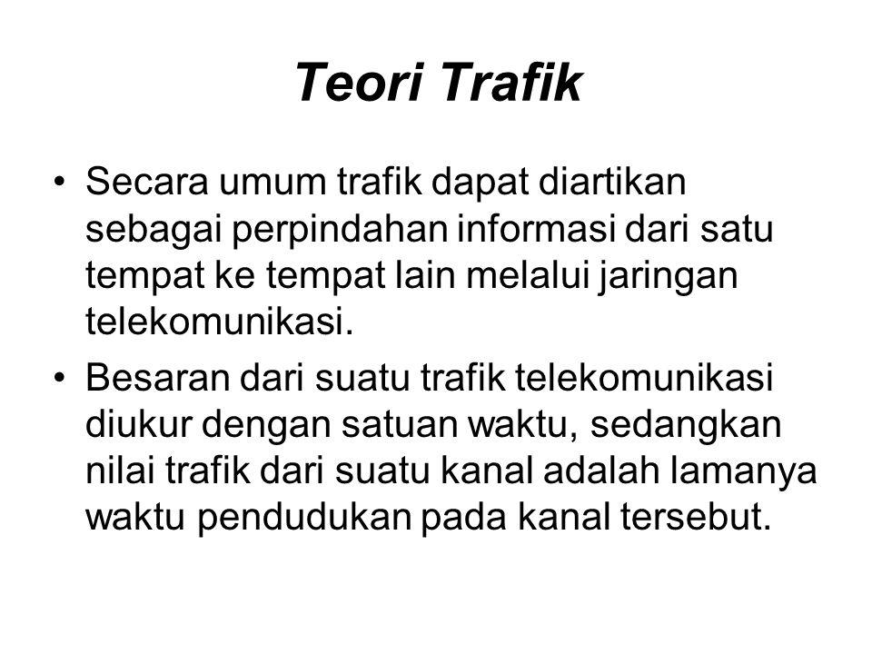 •Dalam lalu lintas telekomunikasi maka objectnya adalah pembicaraan ( informasi). •Jika satu jalur sudah terpakai untuk mengalirkan satu pembicaraan,