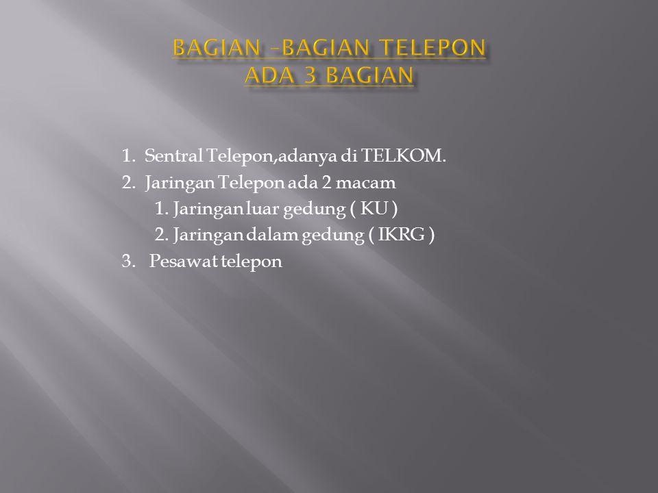 • Untuk Fasilitas Telepon yang ada di Jajaran Satka Polda Rata-rata biasa Lokal,SLJJ dan Selluler.