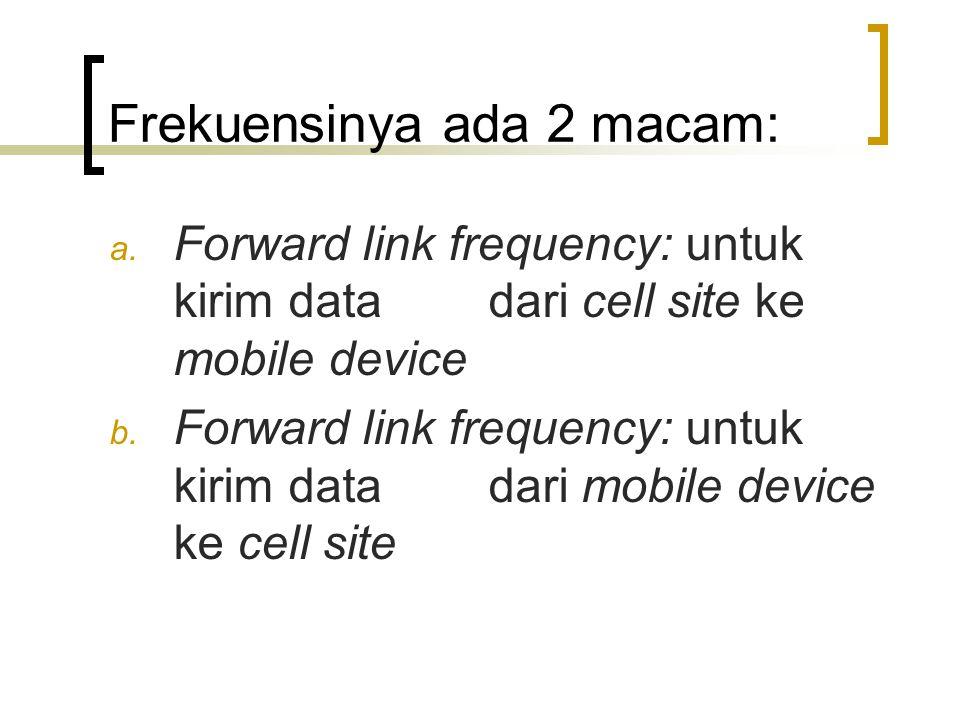 GSM (GLOBAL SYSTEM FOR MOBILE COMMUNICATION) •Standar eropa yang telah diadaptasikan keseluruh dunia •Teknologi yang digunakan: TDMA untuk komunikasi antar telepon dan menara (cell site).