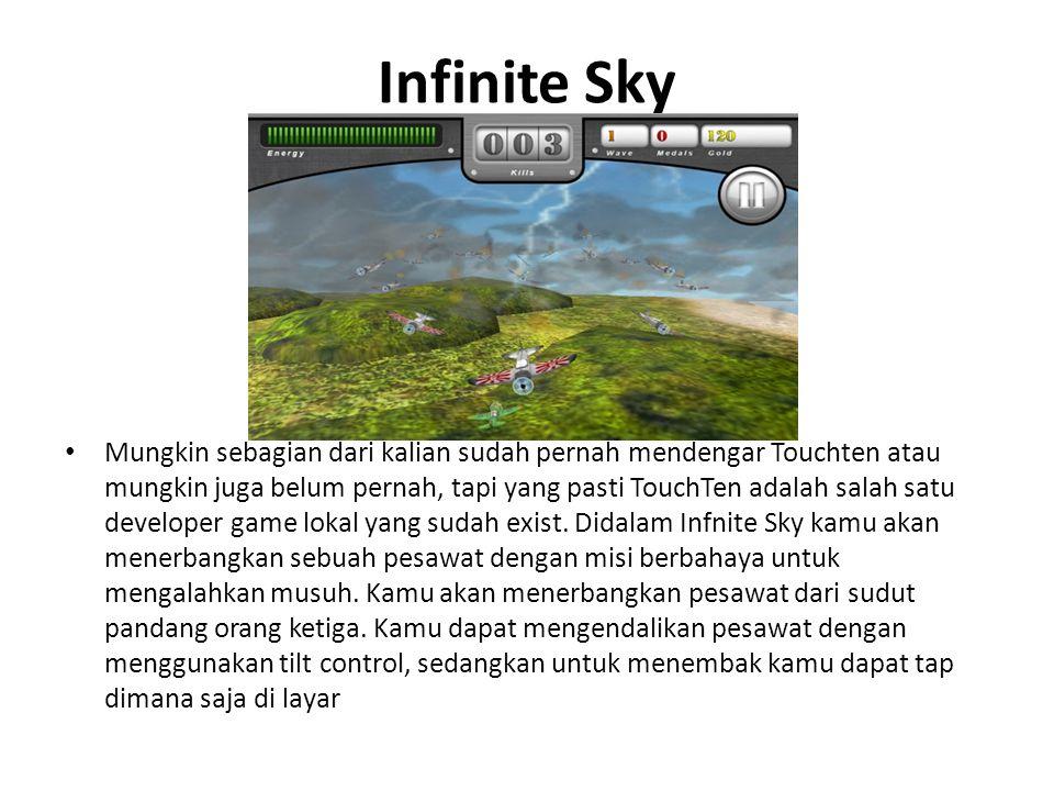 Infinite Sky • Mungkin sebagian dari kalian sudah pernah mendengar Touchten atau mungkin juga belum pernah, tapi yang pasti TouchTen adalah salah satu