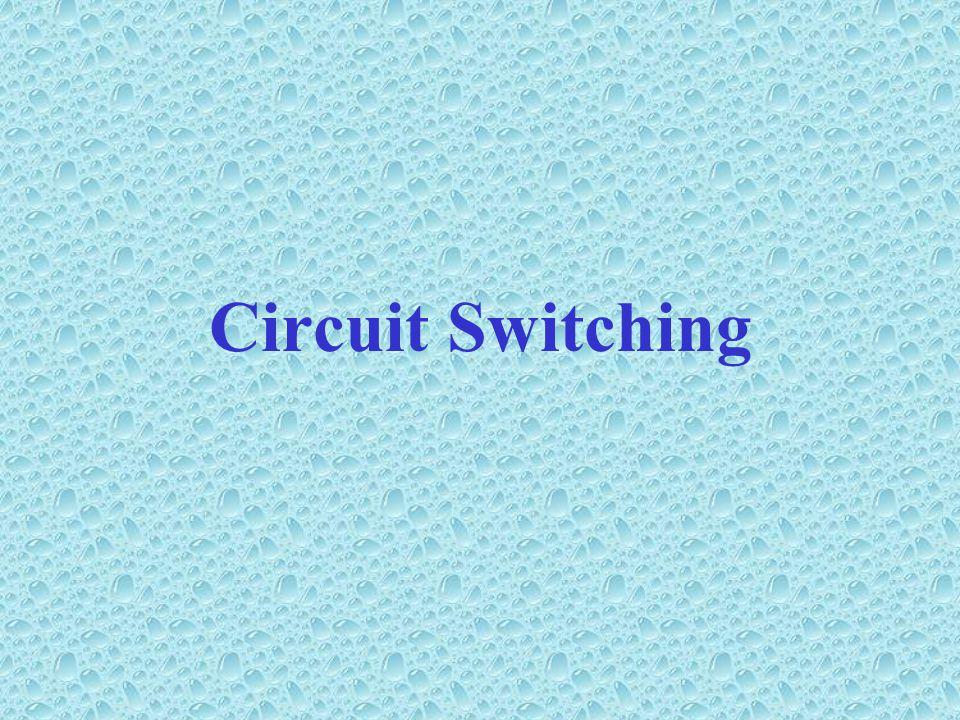 Jaringan Switching •Untuk transmisi data yang melampaui area lokal.