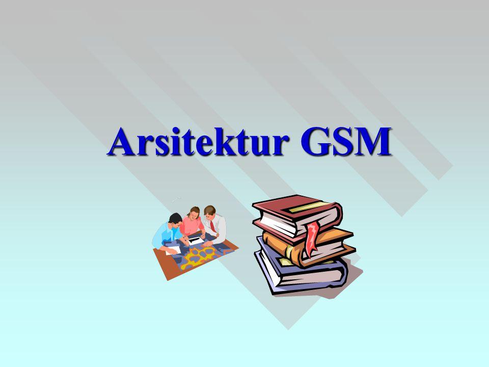 Arsitektur GSM